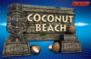 Coconut Beach marquee