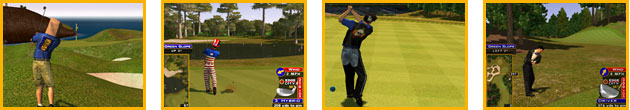 Golden Tee tips tricks hints shortcuts golf game 2007 2008 2009 live arcade customize golfer clothing outfit
