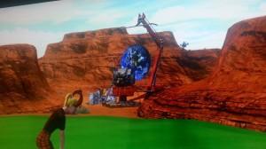 rocky hole 13 moon landing